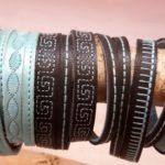 Atelier Van Prins Oentsjerk handgemaakte leren armbanden