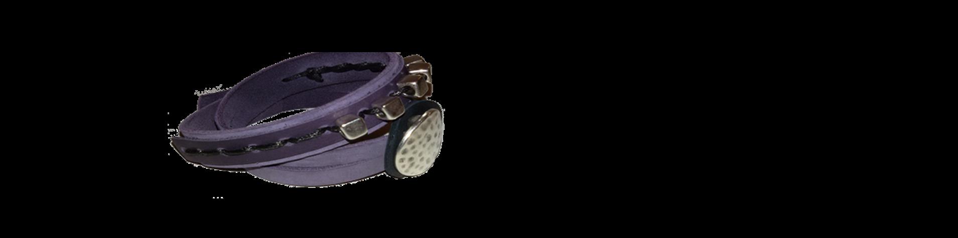 atelier van Prins armband paars
